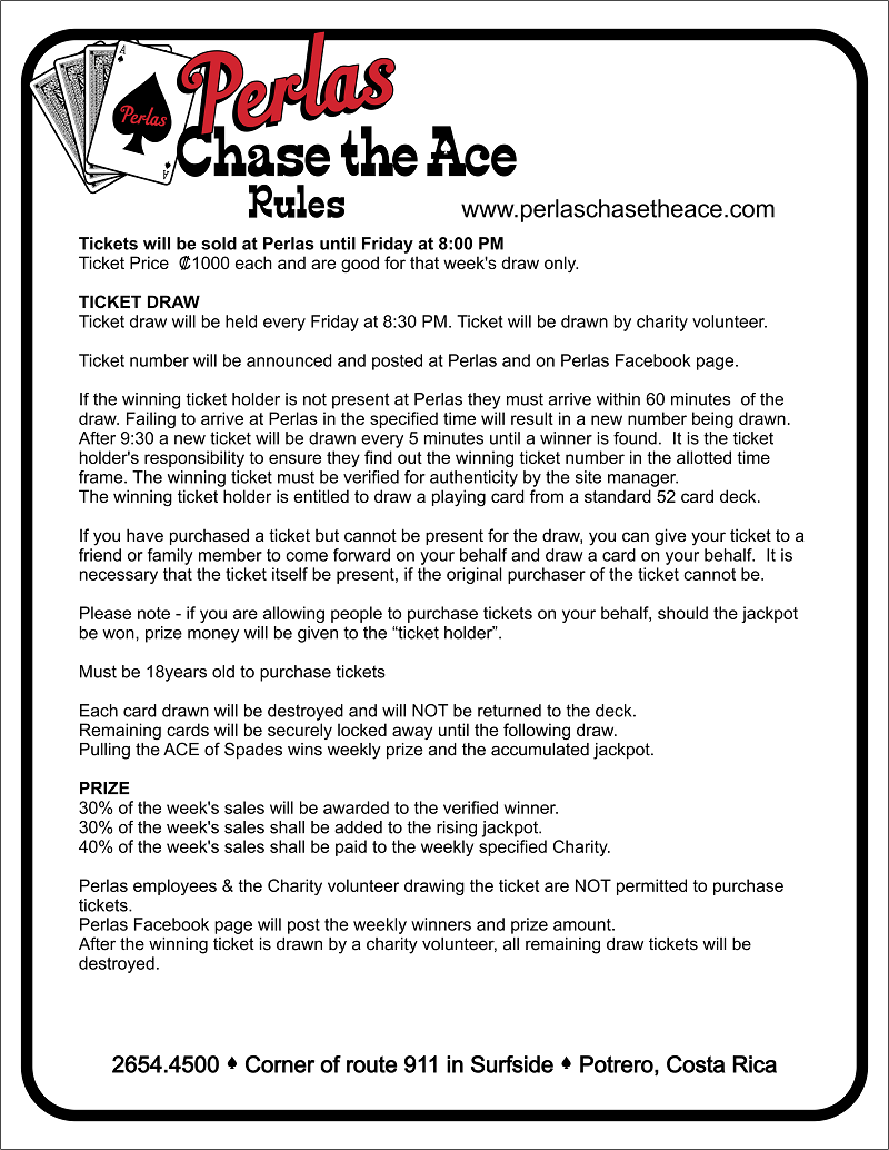 Chase the Ace | Perlas